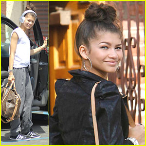 Zendaya: Dance Studio on Saturday