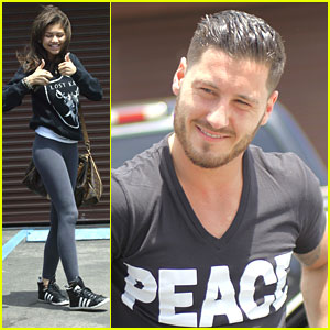 Zendaya &#038; Val Chmerkovskiy: 'DWTS' Finale Practice Pair