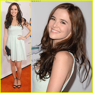 Zoey Deutch: Race To Erase MS Gala 2013