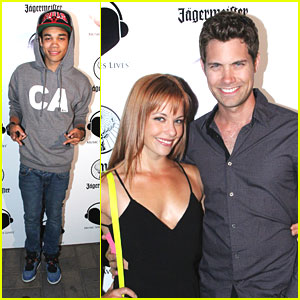 drew seeley amp amy paffrath music saves lives with roshon