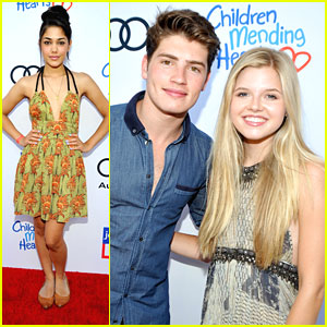 Gregg Sulkin & Ana Mulvoy-Ten: Style Sunday with Children Mending Hearts