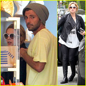 Ashley Benson: Furniture Shopping with Ryan Good