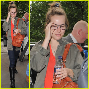 Bridgit Mendler: London Trip After 'Good Luck Charlie' Cancellation