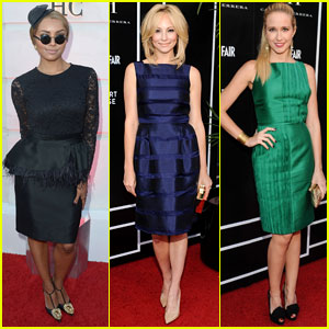 Candice Accola & Kat Graham: CH Carolina Herrera Boutique Opening