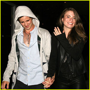 Connor Paolo & Janet Bailey: Holding Hands at Bootsy Bellows