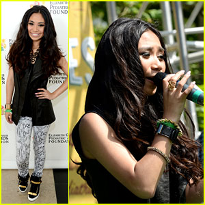 Jessica Sanchez: EGPAF A Time For Heroes 2013 Performer