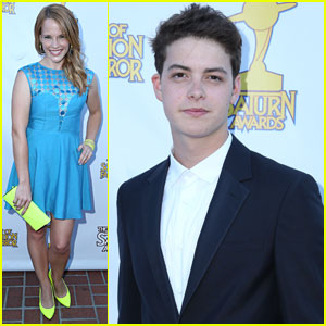 Katie Leclerc & Israel Broussard: Saturn Awards 2013