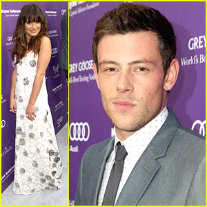 Lea Michele & Cory Monteith: Chrysalis Butterfly Ball Pair