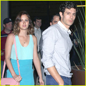Leighton Meester & Adam Brody Hit Up Brickyard Nightclub