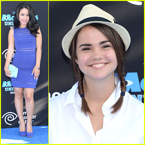 Cierra Ramirez & Maia Mitchell: 'Monsters University' Premiere Pair