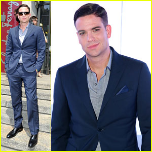 Mark Salling: Milan Fashion Week Attendee