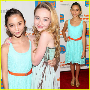Rowan Blanchard: The Actor's Fund Event with Sabrina Carpenter!