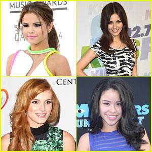 Selena Gomez & Victoria Justice: Imagen Awards 2013 Nominees!