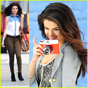 Selena Gomez: 'Dream Out Loud' Commercial Shoot Pics!