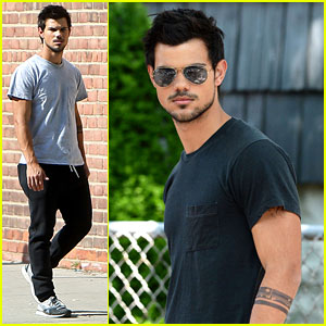 Taylor Lautner: Tattooed for 'Tracers'!