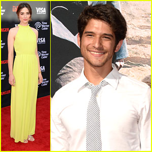 Tyler Posey & Crystal Reed: 'The Lone Ranger' Premiere Pair