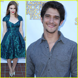 Holland Roden & Tyler Posey: Saturn Awards 2013