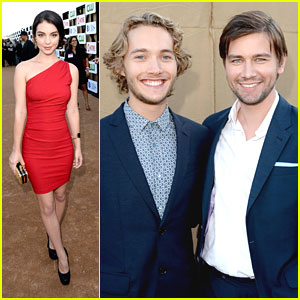 Adelaide Kane: Summer TCA Party with Torrance Coombs & Toby Regbo