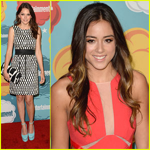 Aimee Teegarden & Chloe Bennet: EW's Comic-Con Celebration 2013