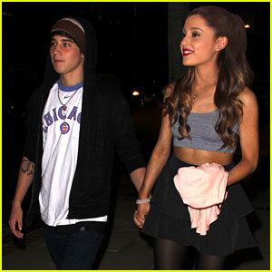 Ariana Grande & Jai Brooks Hold Hands in Hollywood