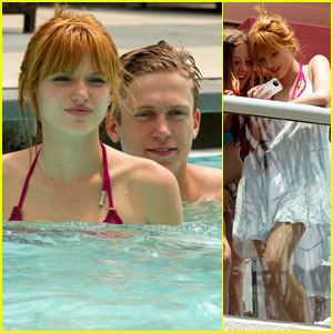 Bella Thorne: Poolside Bikini Babe with Tristan Klier!