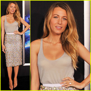 Blake Lively: 'Turbo' NYC Premiere with Ryan Reynolds