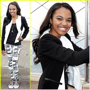 China Anne McClain: Empire State Building Visit!