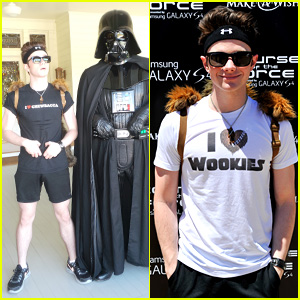 Chris Colfer: Course of the Force Relay!