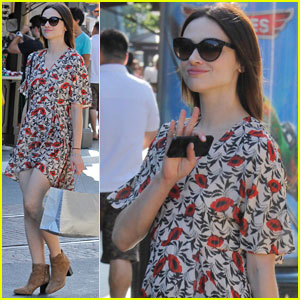 Crystal Reed: My Mom Told Me to Date a Backstreet Boy!