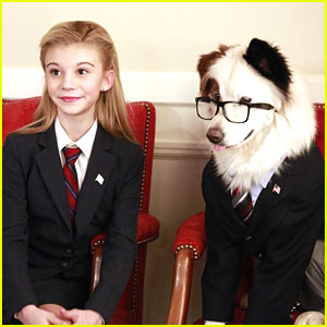 G. Hannelius is President on 'Dog With A Blog'!