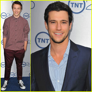 Drew Roy & Connor Jessup: TNT's 25th Anniversary Party