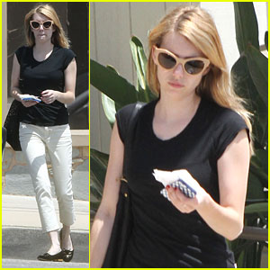 Emma Roberts: Doctor's Office Stop