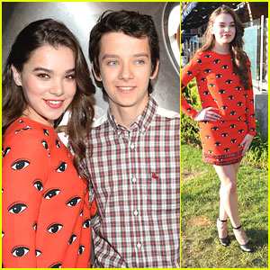 Hailee Steinfeld & Asa Butterfield: 'Ender's Game' Experience at Comic-Con 2013