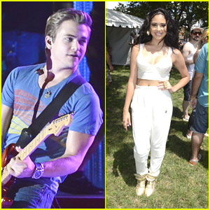 Hunter Hayes & Jasmine V: Philly 4th Concert!
