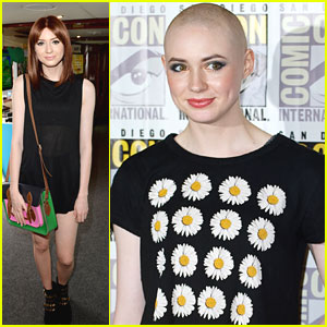 Karen Gillan Shaves Head for 'Guardians Of The Galaxy'!