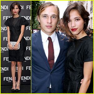 Kelsey Chow: Fendi Opening with William Moseley!