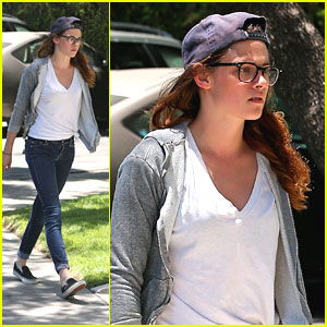 Kristen Stewart: Movie Studio Stop