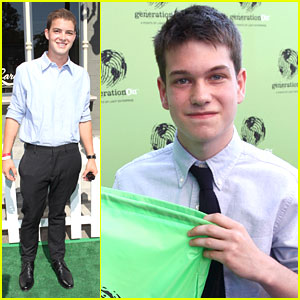 Liam James & Israel Broussard: Power of Youth 2013