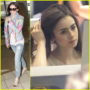 Lily Collins Loved Playing Badass Sexy Dominatrix Y