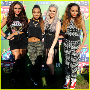 Little Mix: Alton Towers Live Performance Pics!