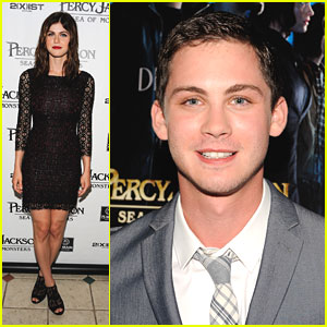 pics for gt alexandra daddario and logan lerman sea of monsters