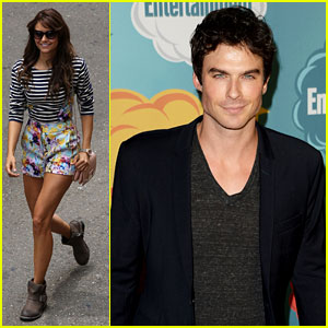 Nina Dobrev & Ian Somerhalder: 'Vampire Diaries' at Comic-Con!