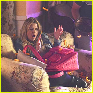 Ashley Benson: Sorority Party on 'PLL'!