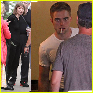 Robert Pattinson & Mia Wasikowska Begin Filming 'M