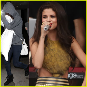 Selena Gomez: LAX Arrival After Free Boston Concert