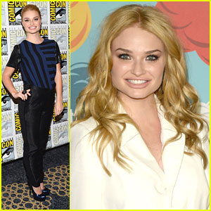 Emma Rigby: EW Comic-Con 2013 Party with Sophie Lowe