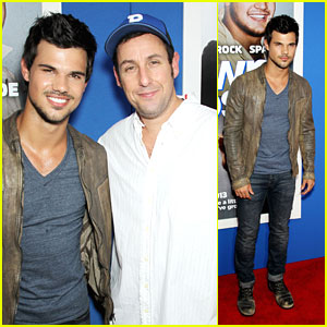 Taylor Lautner: 'Grown Ups 2' NYC Premiere