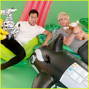 Ross Lynch & Grace Phipps: BTS 'Teen Beach Movie' Shoot Pics!