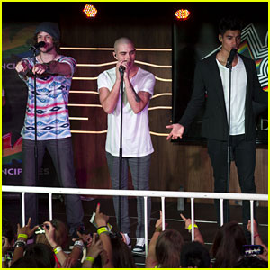 The Wanted: Madrid Performance Pics!