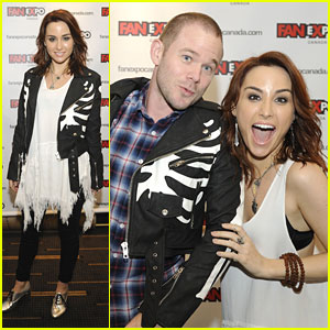 Allison Scagliotti: 'Warehouse 13' at Fan Expo 2013